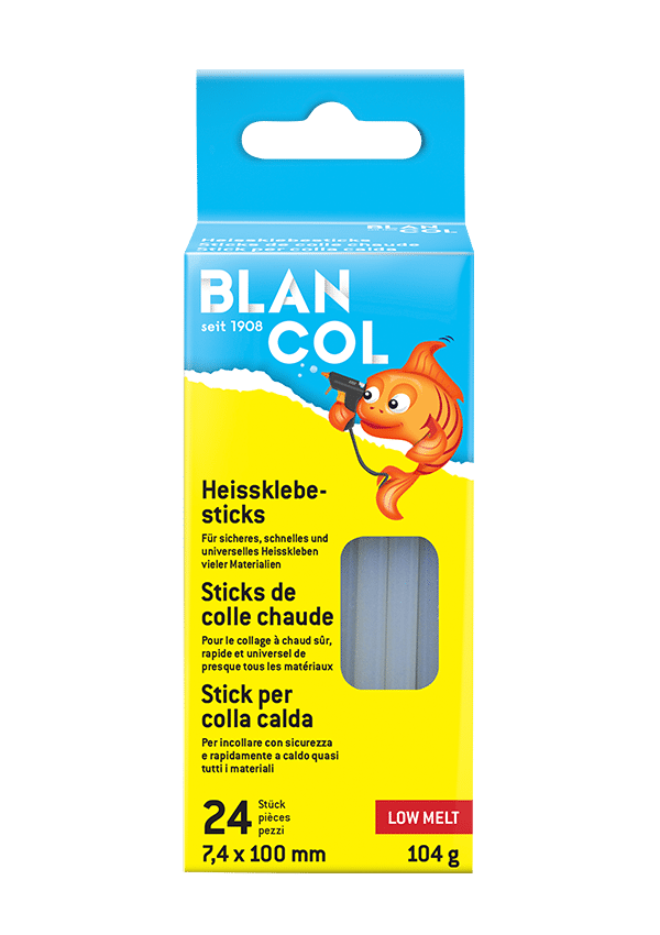 BLANCOL Low melt glue sticks